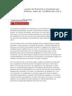 Curso en línea gratis de Electrónica Completa por el Ing Alberto Picerno