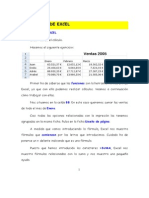 Ejercicio 5 de Excel