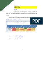 Ejercicio 4 de Excel