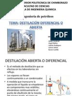 Destilacion diferencial