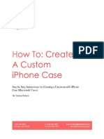 how to-create a custom iphone case