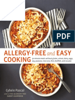 Allergy-Free and Easy Cooking by Cybele Pascal - Recipes