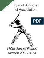 csca anjual report 2012-2013