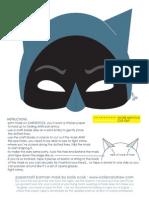 The Bat Mask