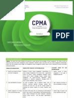 CPMA Certification Syllabus