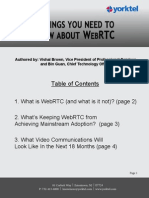 3 Things You Need to Know About WebRTC w Links Final