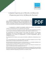 Propuestas de CADE para la Ley Educación Nacional.pdf