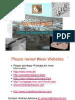 Mars Anomalies Print