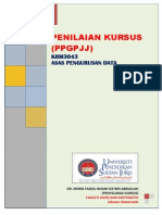 Penilaian Kursus KRM3043