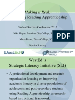 Making it Real:Integrating Reading Apprenticeship  Strategies in Your Class