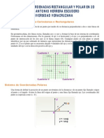 Sistemas Rectangular y Polar - Antonio Herrera Escudero