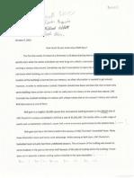 informative explainatory essay peer review