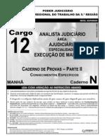 Concurso Analista Judiciário TRT508_012_14