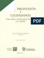 Etica, Profesion y Ciudadania
