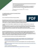 Pedido de cumprimento do Artº 272º da Constituição da República Portuguesa dirigido à PSP