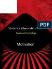 Pasadena City College Developmental Math Curriculum Redesign