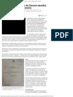 G1 - Alves diz que plenário da Câmara decidirá sobre cassação de Genoino (20-11-13)