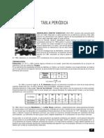 TABLA PERIÓDICA ACTUAL