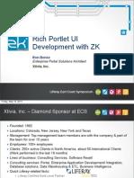 Rich Portlet UI Dev With ZK - R. Bense