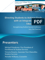 Directing Students to Achieve Goals with an Integrated Student Education Plan