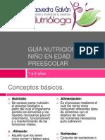 Guía Nutricional del Niño en edad preescolar [Autosaved]