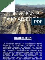 Cubicacion a Tajo Abierto - Exposicion