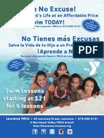 2013 Learn to Swim Flyer - Newspaper Ad
