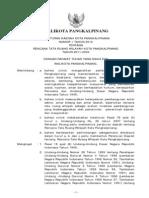 Peraturan Daerah Kota Pangkal Pinang Nomor 1 Tahun 2012 Tentang Rencana Tata Ruang Wilayah Kota PangkalPinang Tahun 2011-2030