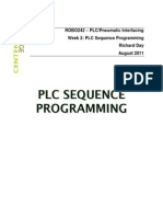 PLC Sequence Programming