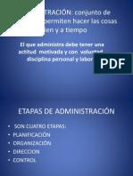 Presentación liderazgo y administración de empresas