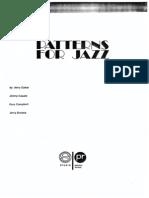 Patterns for Jazz (Clave de Fa) - Parte 1