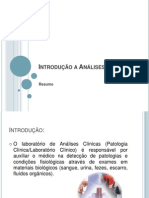 introduoaanlisesclnicas-120314173649-phpapp01