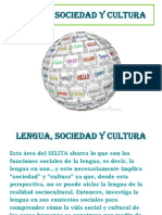 lengua cultura y sociedad