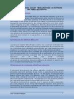 INSTRUMENTO PARA EL ANÁLISIS Y EVALUACIÓN DE LOS SOFTWARE