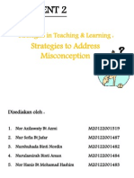 Strategies in Teaching and Learning