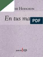 En Tus Manos - Nichi Hodgson