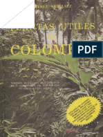 Plantas Útiles de Colombia (Pérez-Arbeláez)