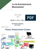 5_ Ken Martin_Standards for Synchrophasor Measurement(1)