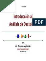 Introducción a la Toma de Decisiones_Roberto Ley Borrás