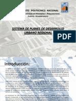 Planes de Desarrollo Urbano Regional