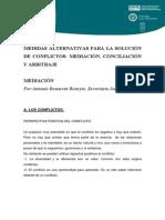 Medidas alternativas_ la mediación