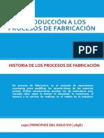 Introducción a los procesos de fabricación