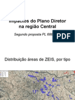Impactos do Plano Diretor na região Central