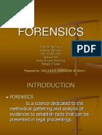 FORENSICS Ballistics