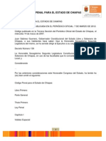 Codigo Penal Para El Estado de Chiapas-marzo 2012