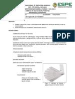 Informe Calibración de Válvulas