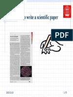 HowToWriteAScientificPaper_PvRS
