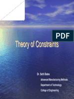 Theory of Constraints Bates