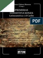 Primeras Constituciones. Latinoamérica y el Caribe. Nelson Chavez Herrera
