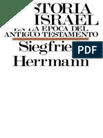 Siegfried Herrman - Historia de Israel en La Epoca Del Antiguo Testamento
